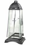 Znicz Kapliczka Glass Art 2 Silver